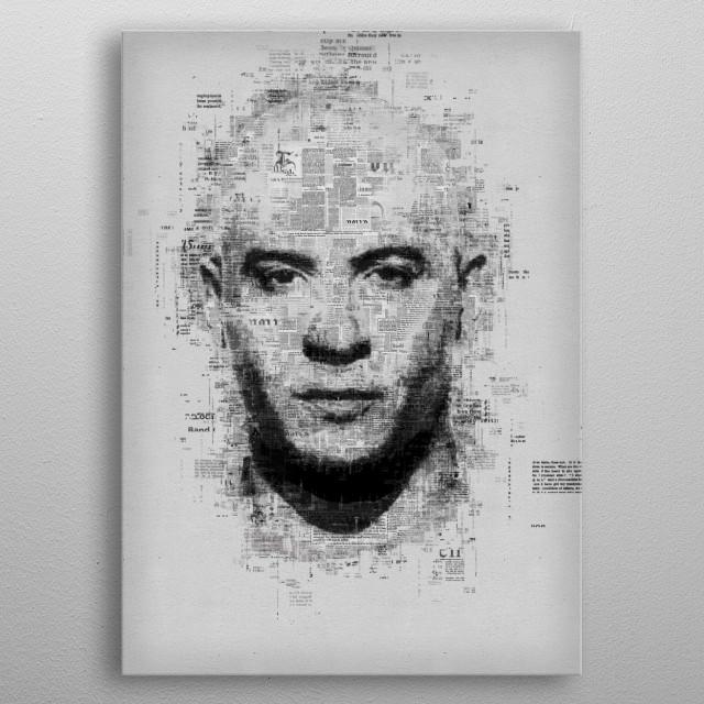 Vin Diesel  metal poster
