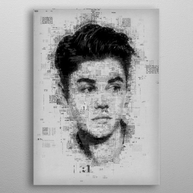 Justin Bieber metal poster