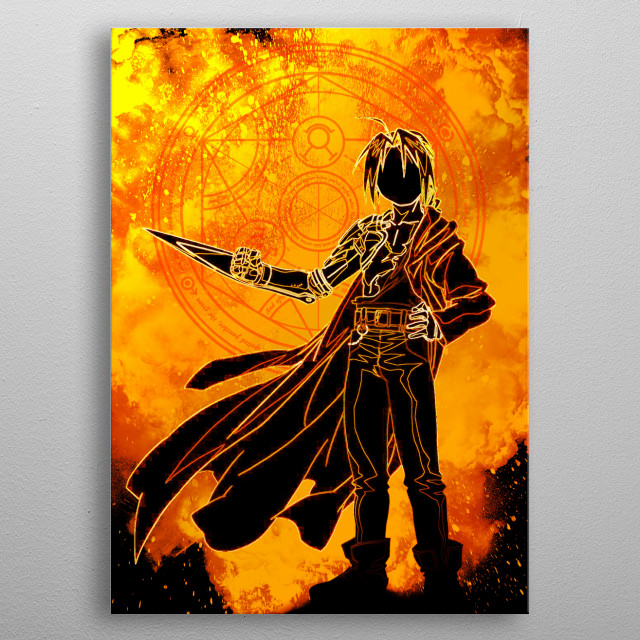The Soul of Alchemy metal poster