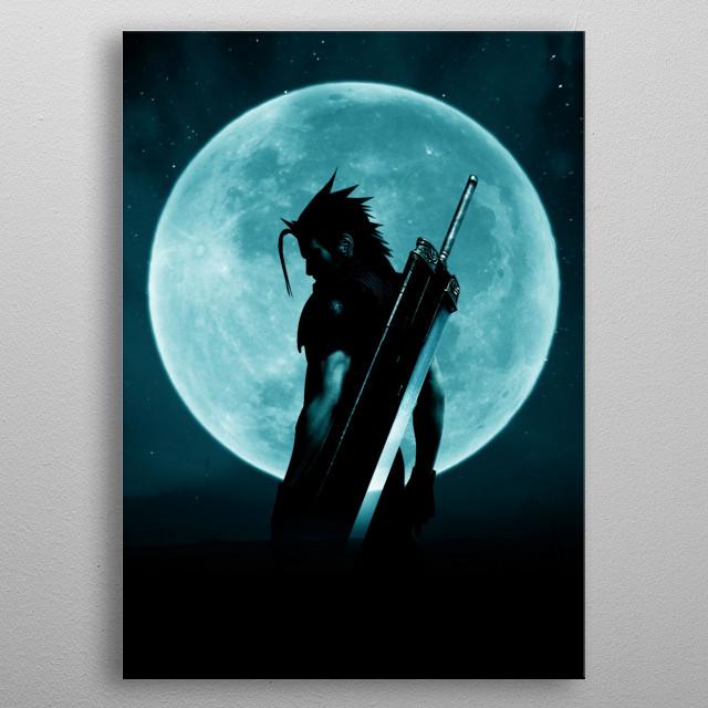 Blue moon Zack metal poster