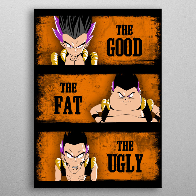 Good, fat, ugly metal poster