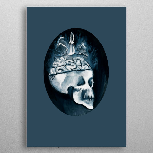 This marvelous metal poster designed by zombierust to add authenticity to your place. Display your passion to the whole world. metal poster