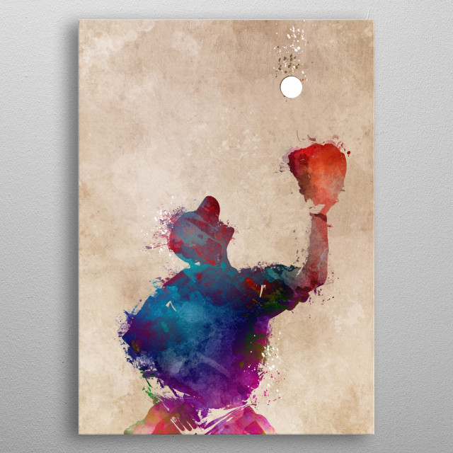 High-quality metal print from amazing Sport collection will bring unique style to your space and will show off your personality. metal poster