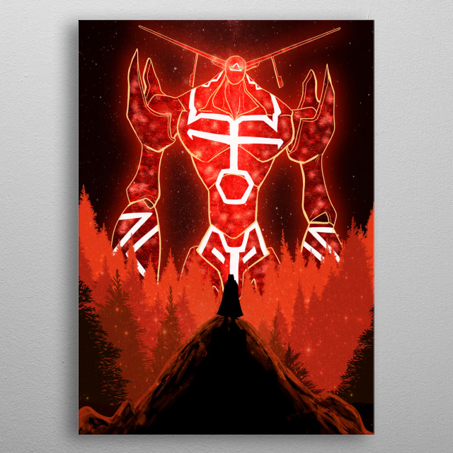 High-quality metal wall art meticulously designed by mcashe would bring extraordinary style to your room. Hang it & enjoy. metal poster