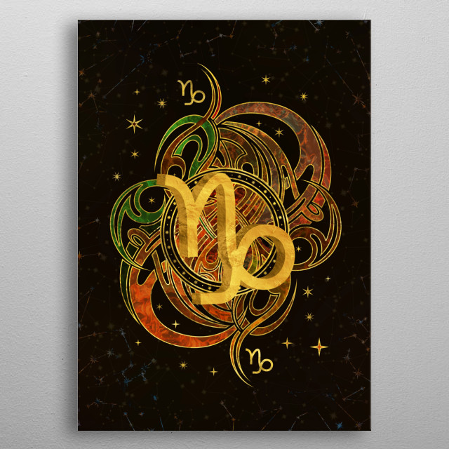 Fascinating metal poster designed by Lioudmila Perry. Displate has a unique signature and hologram on the back to add authenticity to each design. metal poster
