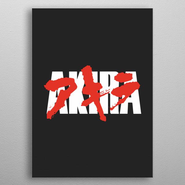 Akira - Icon 1 metal poster