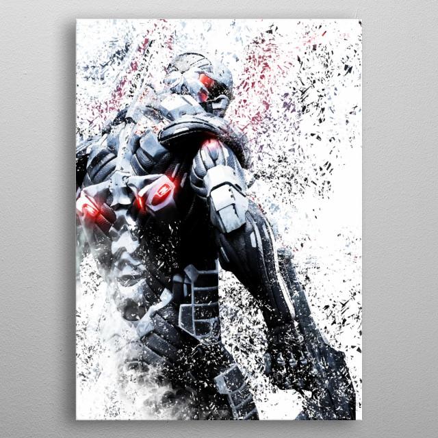Crysis metal poster