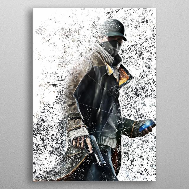 Watchdog metal poster