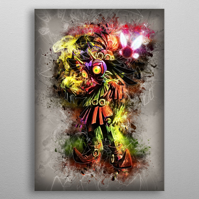Skull Kid - Majoras Mask metal poster