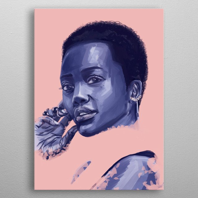 High-quality metal print from amazing Celebrity collection will bring unique style to your space and will show off your personality. metal poster