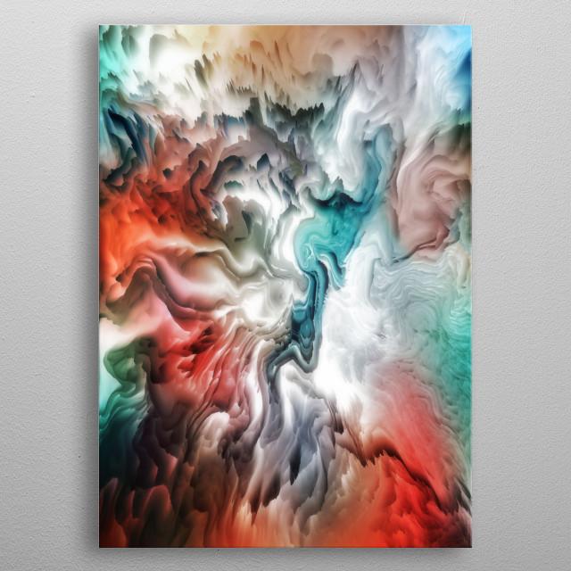 Cosmic Portal metal poster