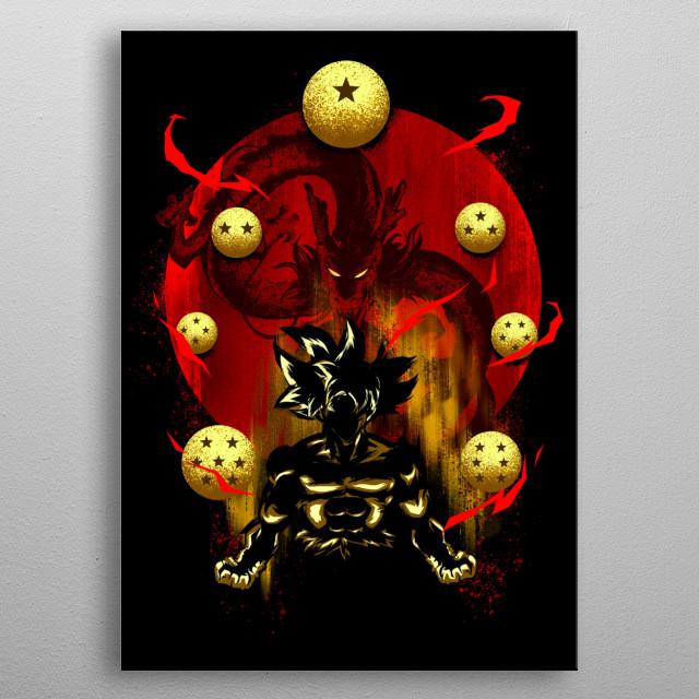 Greatest Hero metal poster