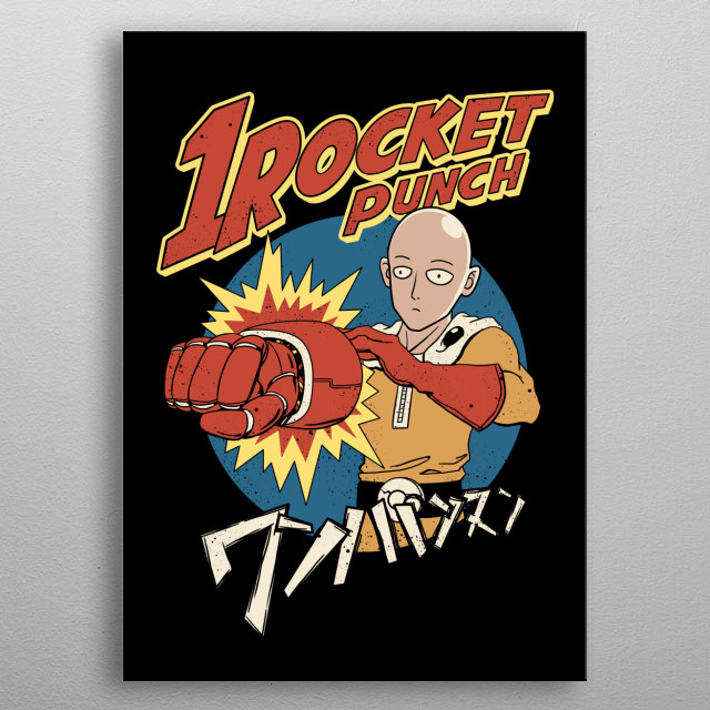 High-quality metal print from amazing Retro Anime collection will bring unique style to your space and will show off your personality. metal poster