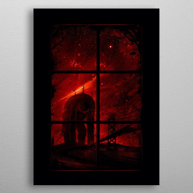 This marvelous metal poster designed by nicebleed to add authenticity to your place. Display your passion to the whole world. metal poster