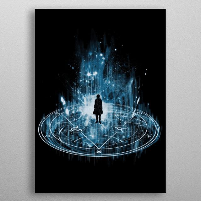 transmutation metal poster