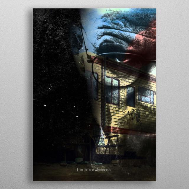 Heisenberg - Breaking Bad metal poster