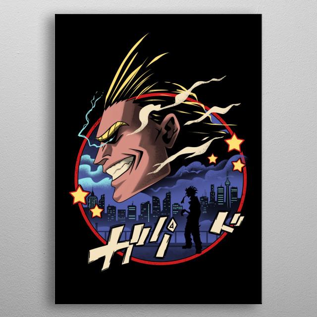 Symbol of Peace metal poster