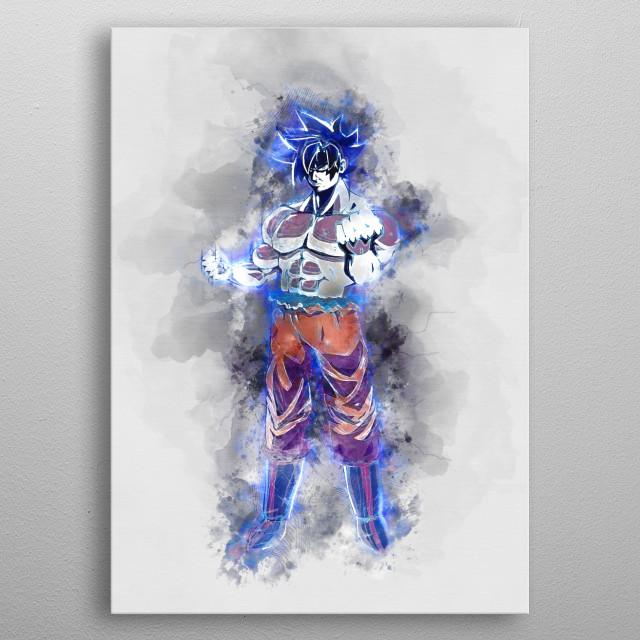 Goku Limit Breaker  metal poster