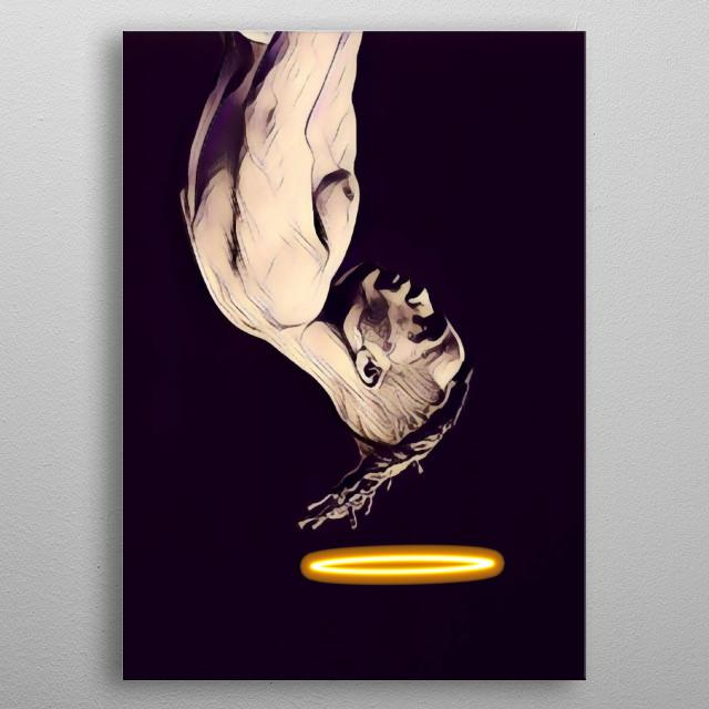 R.I.P XXXTentacion metal poster