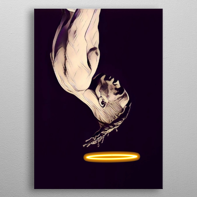 Fascinating  metal poster designed with love by saintiro. Decorate your space with this design & find daily inspiration in it. metal poster
