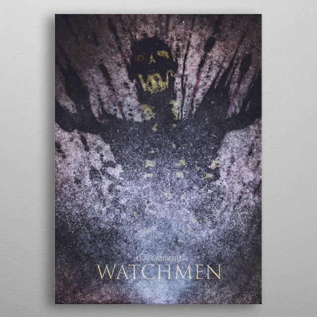 Fascinating metal poster designed by Nerdworld 1. Displate has a unique signature and hologram on the back to add authenticity to each design. metal poster