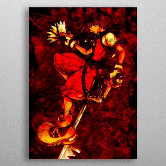 Visit mi web www, for more designs.  Follow in Instagram/Facebook/Twitter: @freakcreator. metal poster