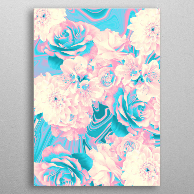 If you like flowers you should buy this metal poster