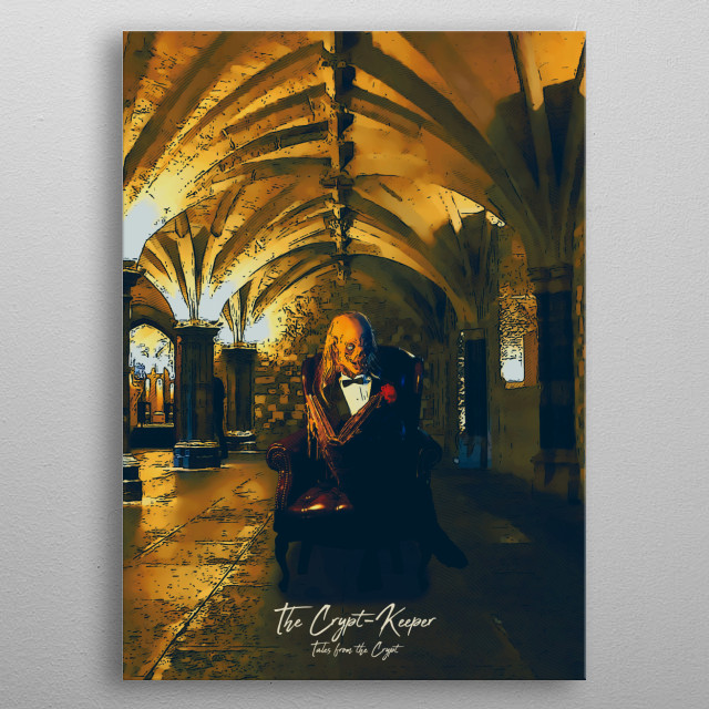 The Crypt-Keeper - Tales from the Crypt metal poster