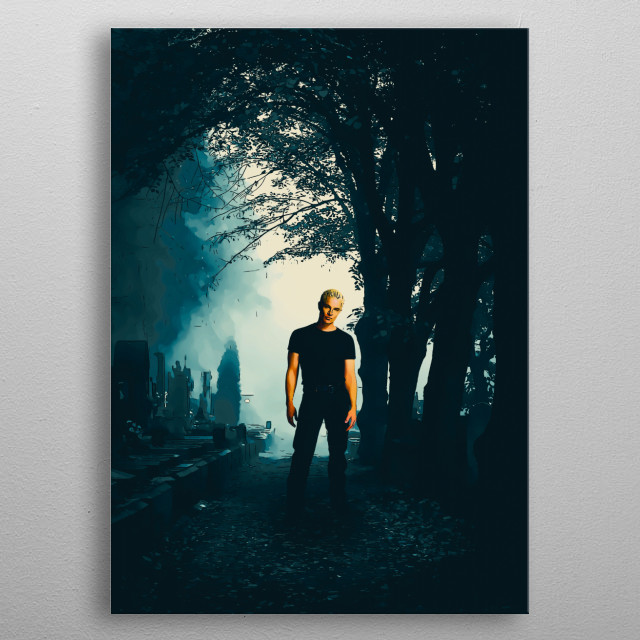 Buffy The Vampire Slayer - Spyke metal poster