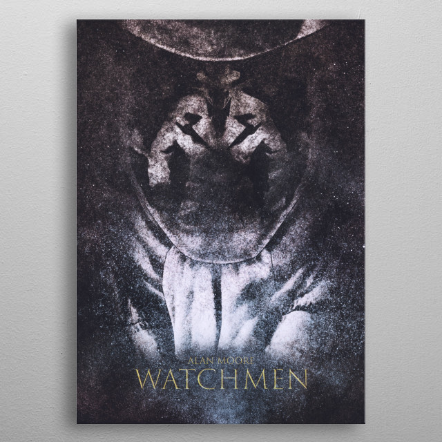 High-quality metal print from amazing The Modern Popculture collection will bring unique style to your space and will show off your personality. metal poster