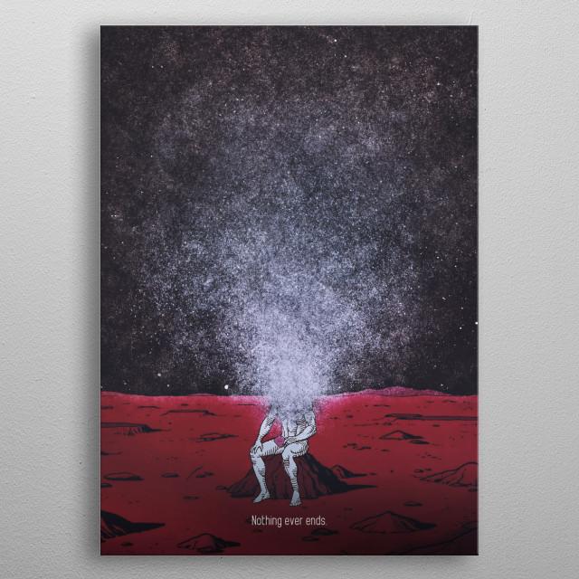 Dr Manhattan - Watchmen metal poster