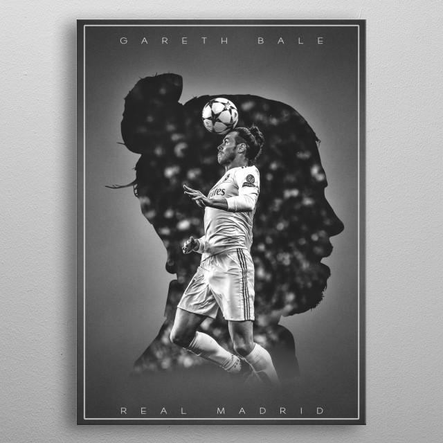 Gareth Bale  metal poster