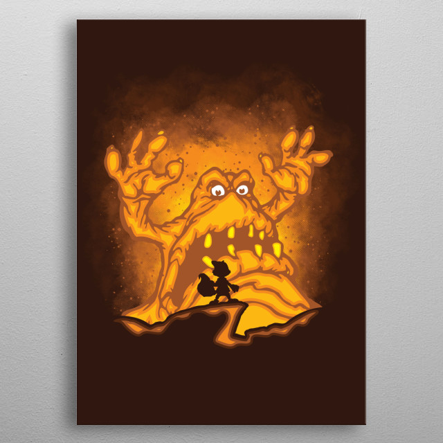 The Great Mighty Poo metal poster