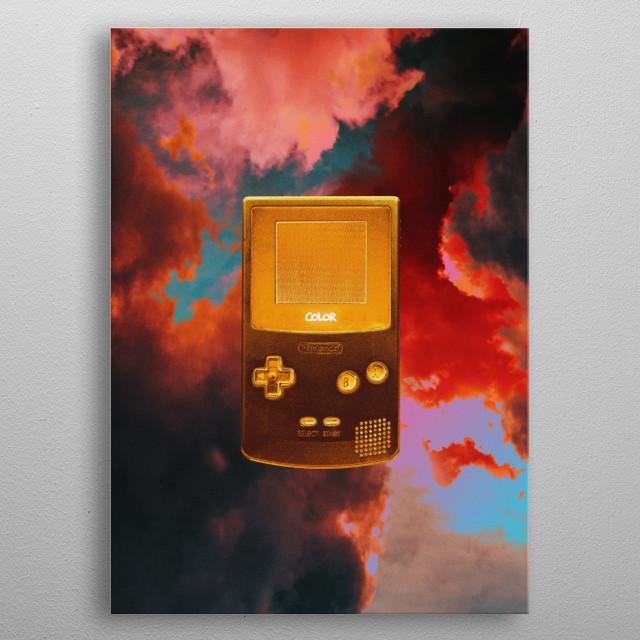Color metal poster