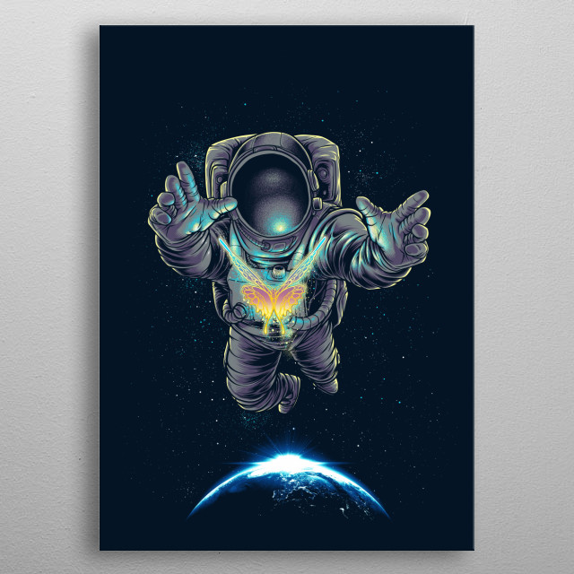 Fascinating metal poster designed by agus setyawan. Displate has a unique signature and hologram on the back to add authenticity to each design. metal poster