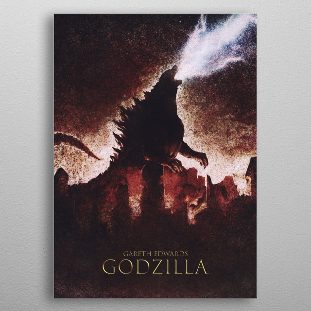 This marvelous metal poster designed by Nerdworld to add authenticity to your place. Display your passion to the whole world. metal poster