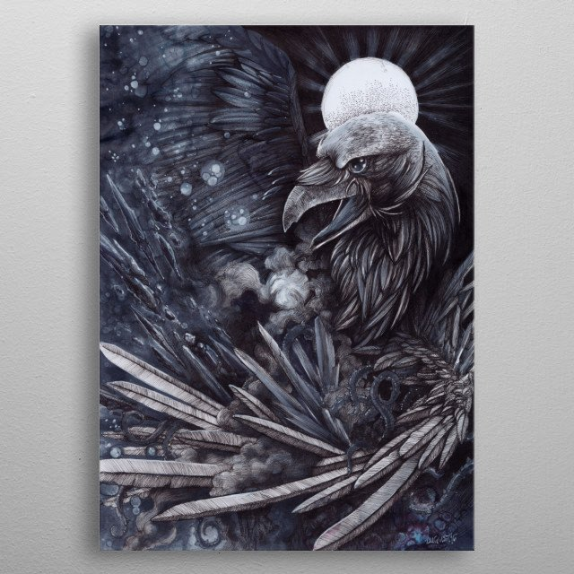 Fascinating  metal poster designed with love by HauntedNest. Decorate your space with this design & find daily inspiration in it. metal poster