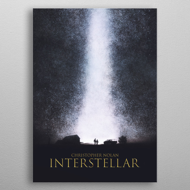 A Place Among The Stars metal poster