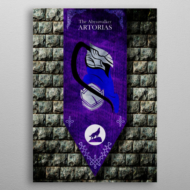 High-quality metal print from amazing Videogame Posters collection will bring unique style to your space and will show off your personality. metal poster