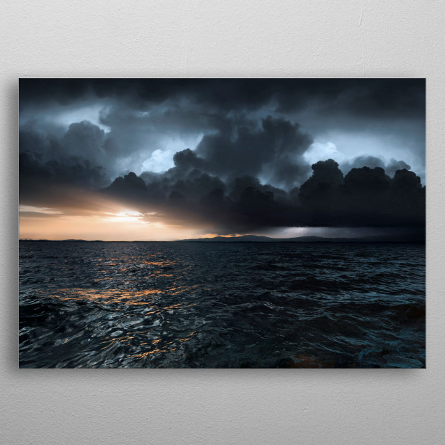 Fascinating metal poster designed by Michal Karcz. Displate has a unique signature and hologram on the back to add authenticity to each design. metal poster