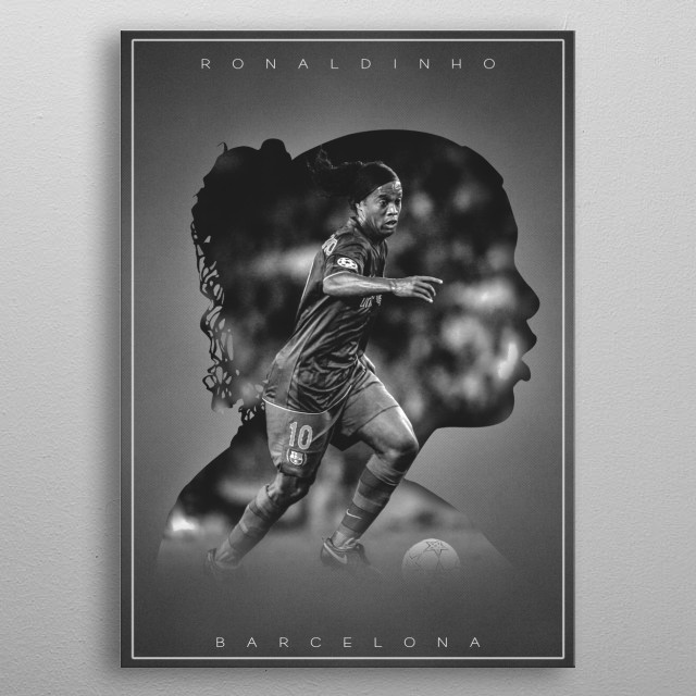 This marvelous metal poster designed by TheFootballConcept to add authenticity to your place. Display your passion to the whole world. metal poster