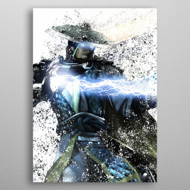 This marvelous metal poster designed by Leonard_Mendoza to add authenticity to your place. Display your passion to the whole world. metal poster