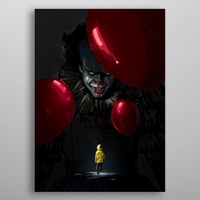 Pennywise metal poster