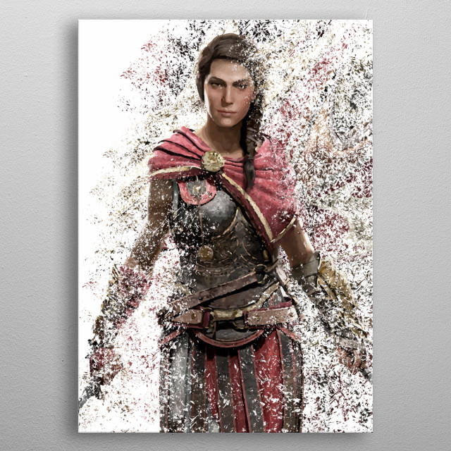 Kassandra 2 metal poster