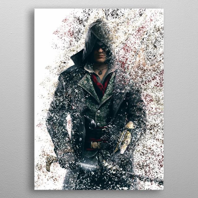 Jacob metal poster