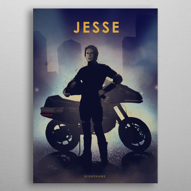 High-quality metal print from amazing Moto Legends collection will bring unique style to your space and will show off your personality. metal poster