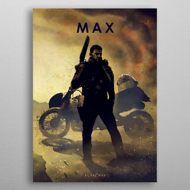 Max metal poster