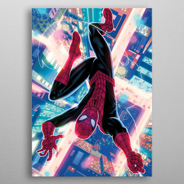 Hero  metal poster