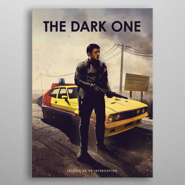The Dark One  metal poster