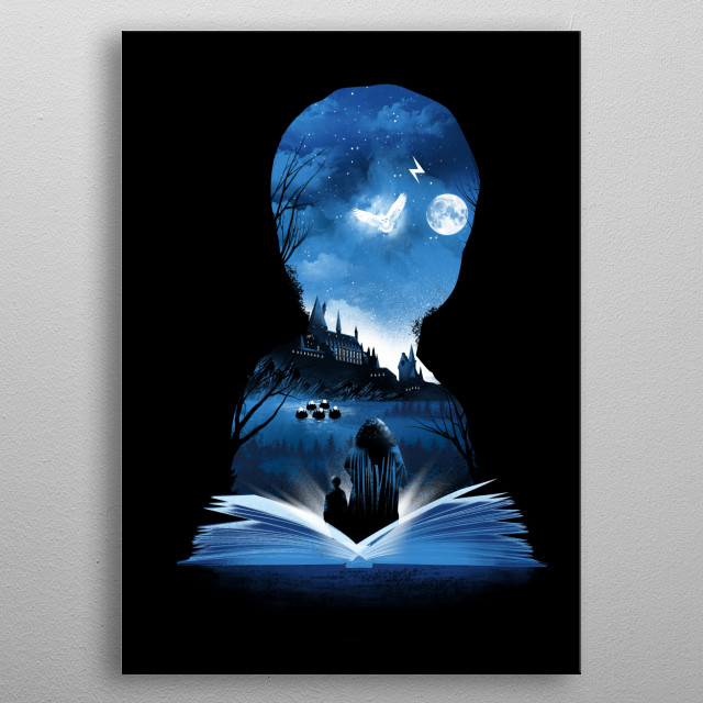 The 1st Book of Magic metal poster